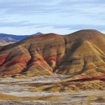 Finalist: Painted Hills in the John Day National Monument, Oregon. By Ray DeBaun.